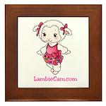 New Lambie Logo Framed Tile