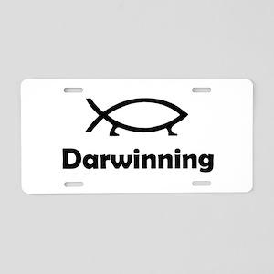 Darwinning Aluminum License Plate