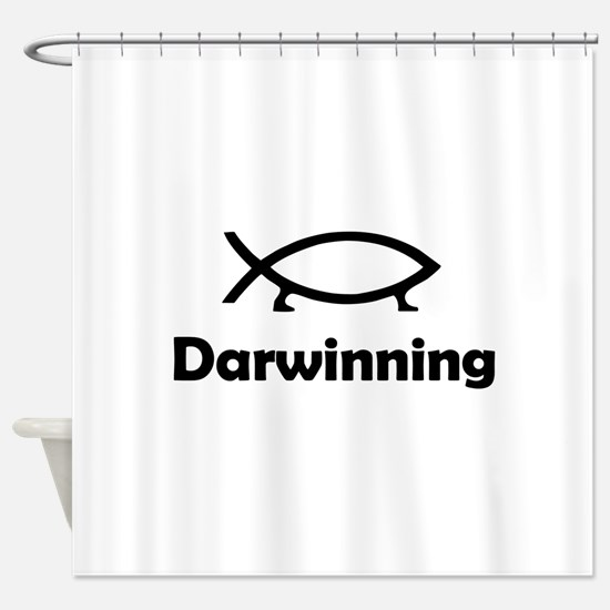 Darwinning Shower Curtain