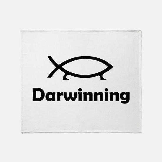 Darwinning Throw Blanket