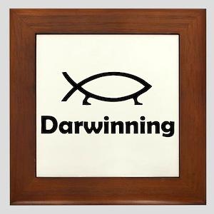 Darwinning Framed Tile