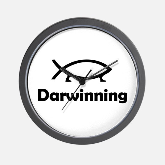 Darwinning Wall Clock