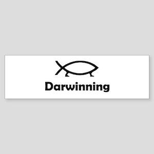Darwinning Bumper Sticker