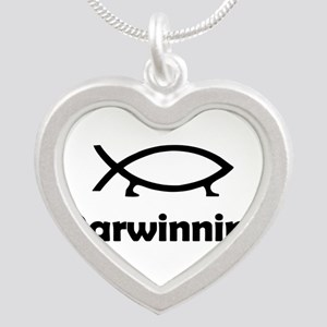 Darwinning Silver Heart Necklace