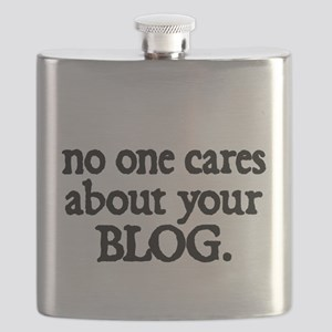 no one cares about your blog Flask