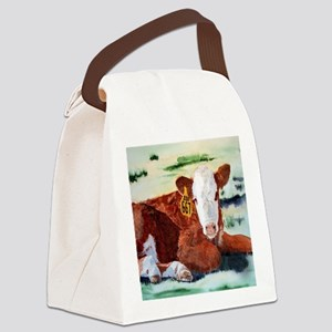Hereford Calf Canvas Lunch Bag