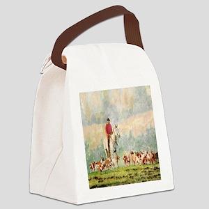 Foxhunt Canvas Lunch Bag
