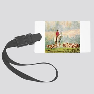 Foxhunt Large Luggage Tag