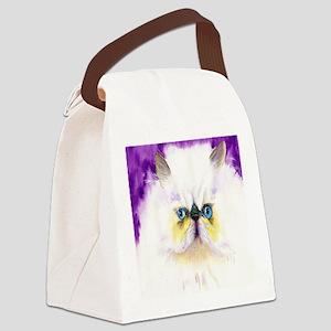 Himalayan Cat Canvas Lunch Bag