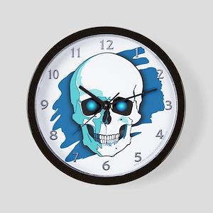 Skull Halloween Wall Clock