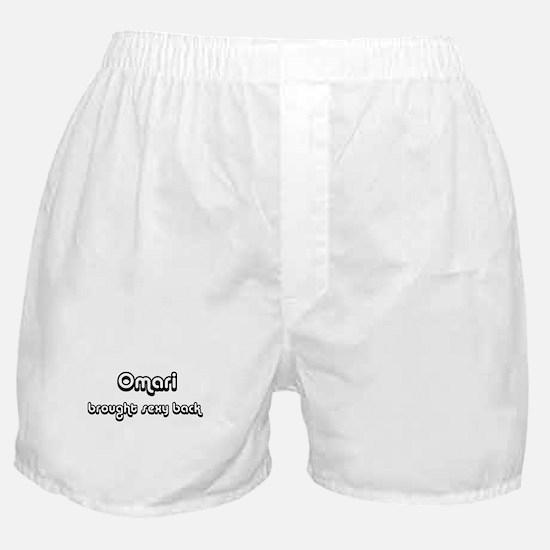 Sexy: Omari Boxer Shorts