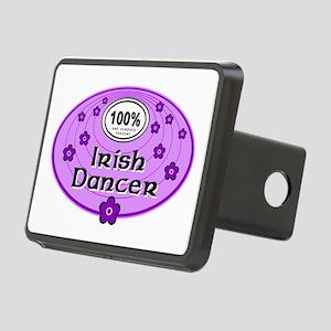 100% Irish Dancer in Purple Rectangular Hitch Cove