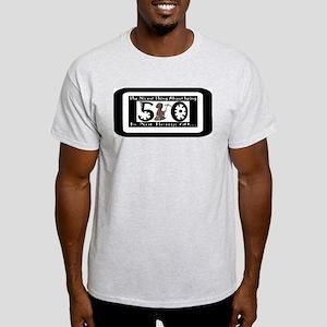 Being 50 Ash Grey T-Shirt