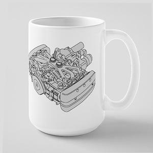 GL1800 Engine Mug