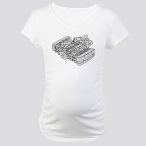 GL1800 Engine Maternity T-Shirt