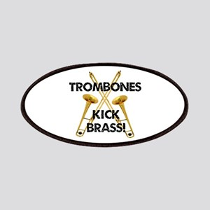 Trombones Kick Brass Patches