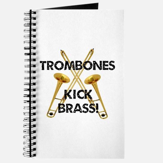 Trombones Kick Brass Journal