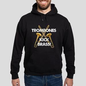 Trombones Kick Brass Hoodie
