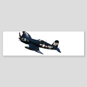 Corsair fighter Bumper Sticker