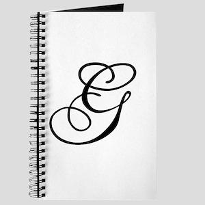 Champagne Monogram G Journal