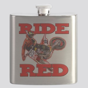 Ride Red 2013 Flask