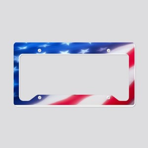 Bass America License Plate Holder