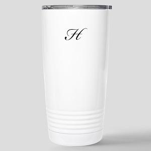 Bickham Script Monogram H Travel Mug