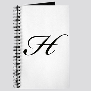 Bickham Script Monogram H Journal
