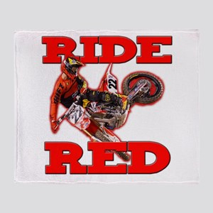 Ride Red 2013 Throw Blanket