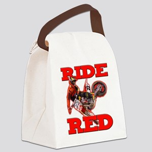 Ride Red 2013 Canvas Lunch Bag