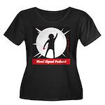 Updated Wow! Signal Logo Plus Size T-Shirt