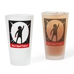 Updated Wow! Signal Logo Drinking Glass