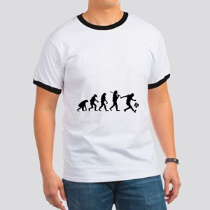 Evolution of the soccer player T-Shirt