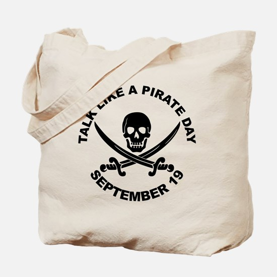 Talk Like A Pirate Day Tote Bag