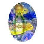 Nature Reflections I Ornament (Oval)