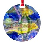 Nature Reflections I Round Ornament
