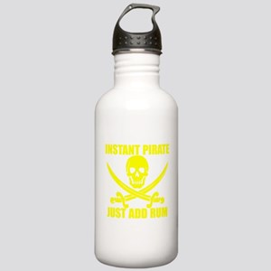 Yellow Instant Pirate Water Bottle