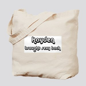 Sexy: Kayden Tote Bag
