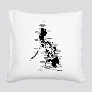 phislandsDarkonLtcrop Square Canvas Pillow