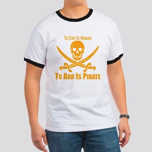 To Arr Is Pirate Orange T-Shirt