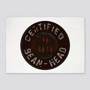 certified beanhead 5'x7'Area Rug