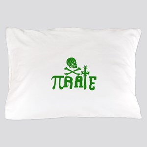 Pi-rate Green Pillow Case