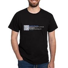 Social Media Dark T-Shirt