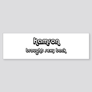 Sexy: Kamron Bumper Sticker