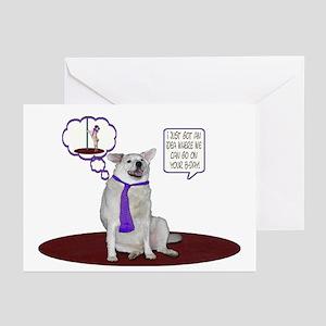 Husky Birthday Greeting Cards (Pk of 10)
