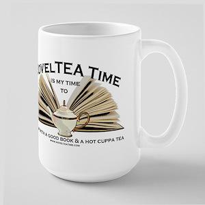 NovelTea Time Classic Curl up with a Good Book Mug
