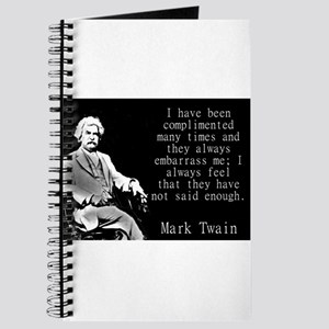 I Have Been Complimented Many Times - Twain Journa