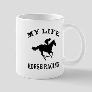 My Life Horse Racing Mug