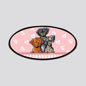 Doxie Trio Patches