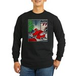 Santas tramp stamp Long Sleeve T-Shirt